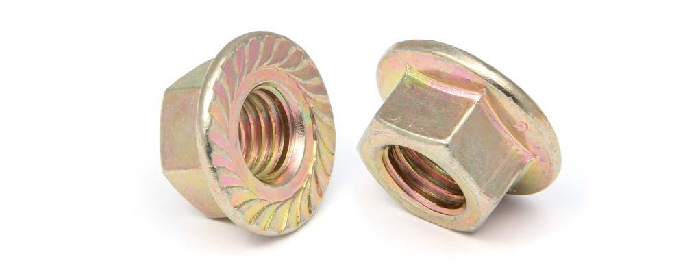 Tuerca DIN 6923 hexagonal ISO 4161