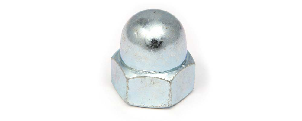 Tuerca DIN 1587 hexagonal ciega