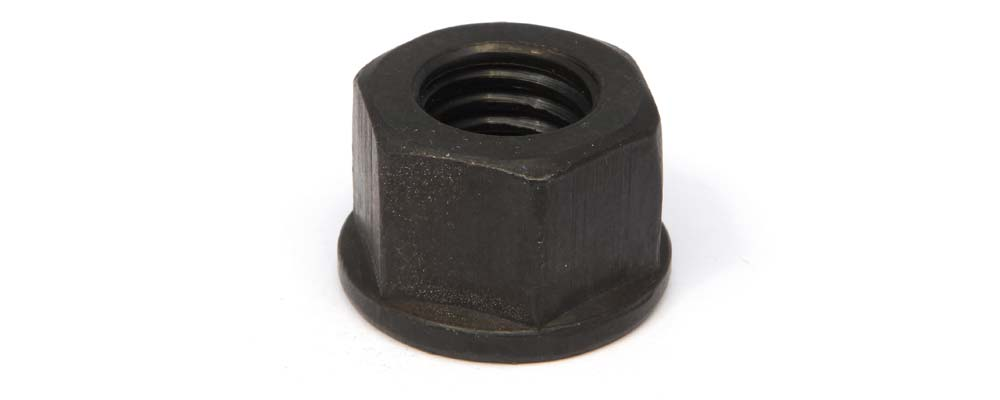 Tuerca DIN 6331 hexagonal alta con brida